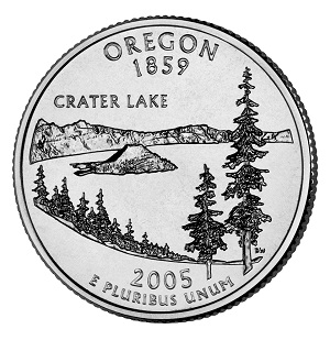 Oregon State Quarter 2005